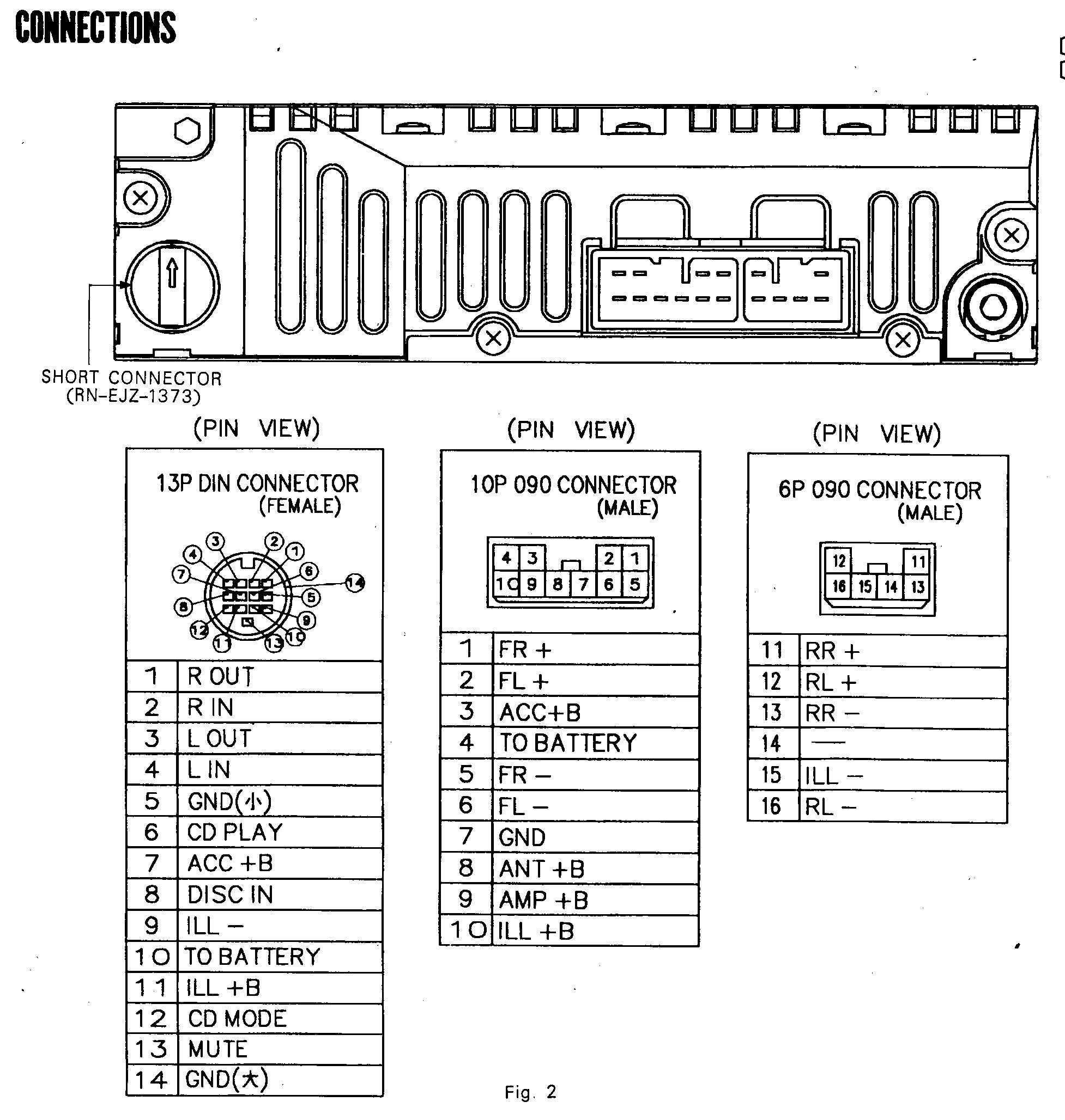 toyota radio wiring diagram in 2021   pioneer car stereo, car stereo, sony  car stereo  pinterest