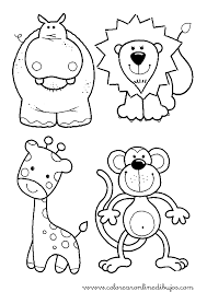 Resultado de imagen para plantillas de animales para pintar en