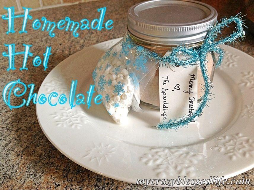 DIY Christmas Gifts: Homemade Hot Chocolate Mix