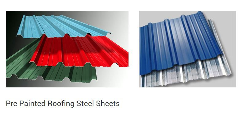 Malur Tubes Are One Of The Leading Pre Painted Roofing Steel Sheets Manufacturers And Dealers In I Steel Roofing India Steel