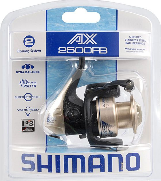 Fishing 40147: Lot Of 10 Spinning Fishing Reel Shimano Ax 2500 Fb Brand New BUY IT NOW ONLY: $195.0