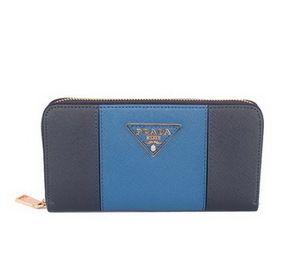 prada purse 2013 Date cuir Prada 1M0506 BleuRoyale Saffiano   Bleu    leather purses · Replica ... 1dfac804f98