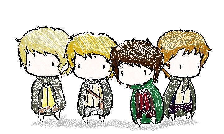 Hobbits. by LadyxOwl on deviantART
