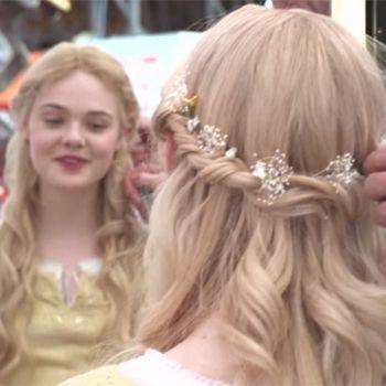 Elle Fanning Aurora Costume How To Get Elle Fannin...