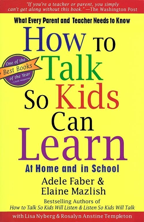 Book Review How To Talk So Kids Can Learn Pinterest Authors