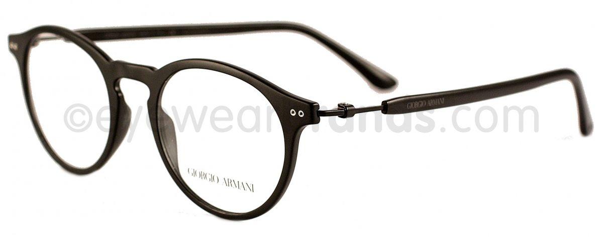 Giorgio Armani AR7040 5042 Matte Black Glasses | Eyewear Brands ...