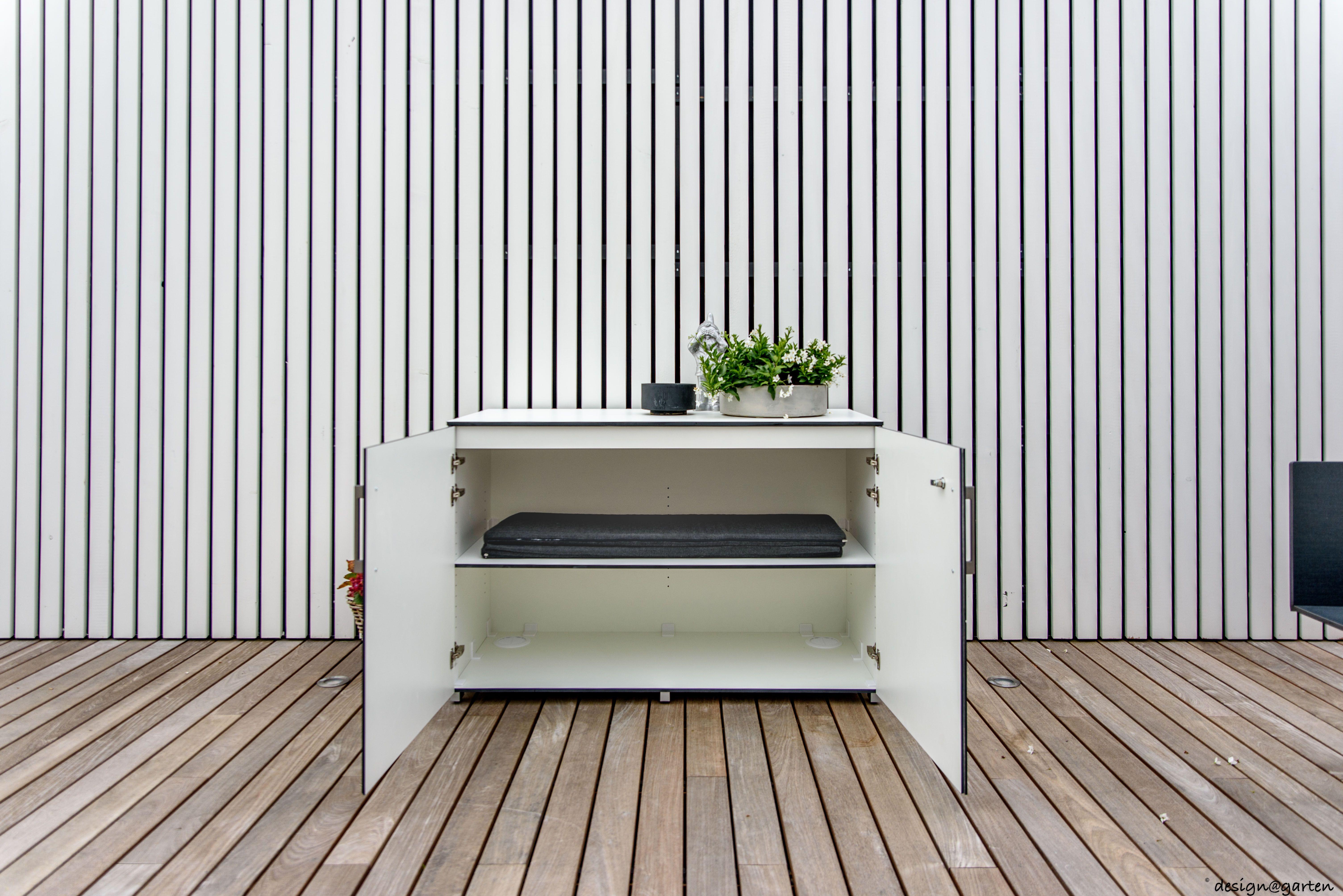 Balkonschrank Terrassenschrank Win By Design Garten Augsburg Hier Sideboad Xl130 In Luxemburg Griffe Farbe We Balkonschrank Terrasse Gartenschrank