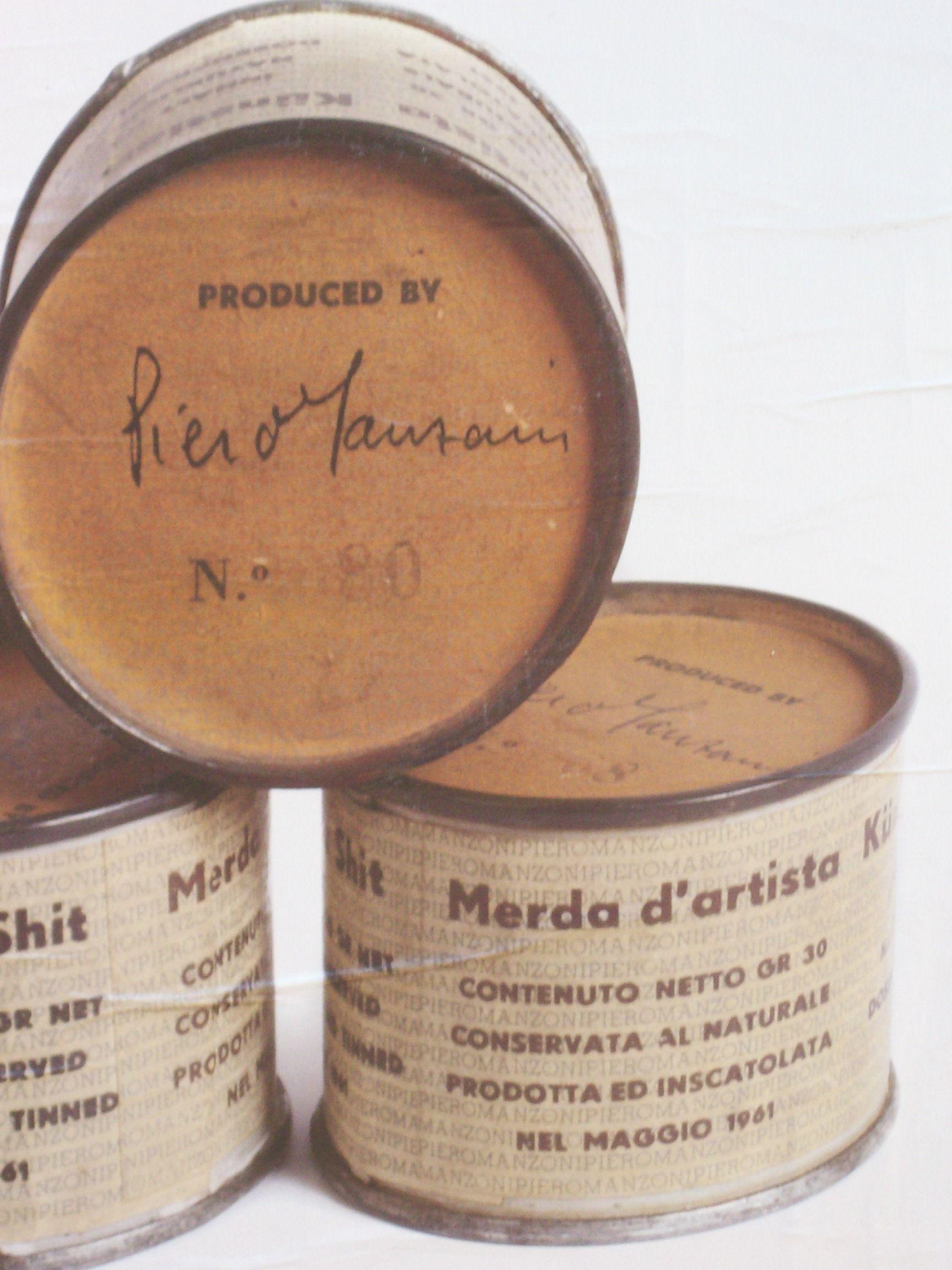 'Mierda de Artista', la obra de arte conceptual que catapultó a Piero Manzoni