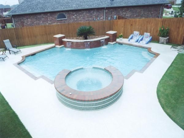 Custom Pools Priced Between $50-$60k | Pools, fountains ...