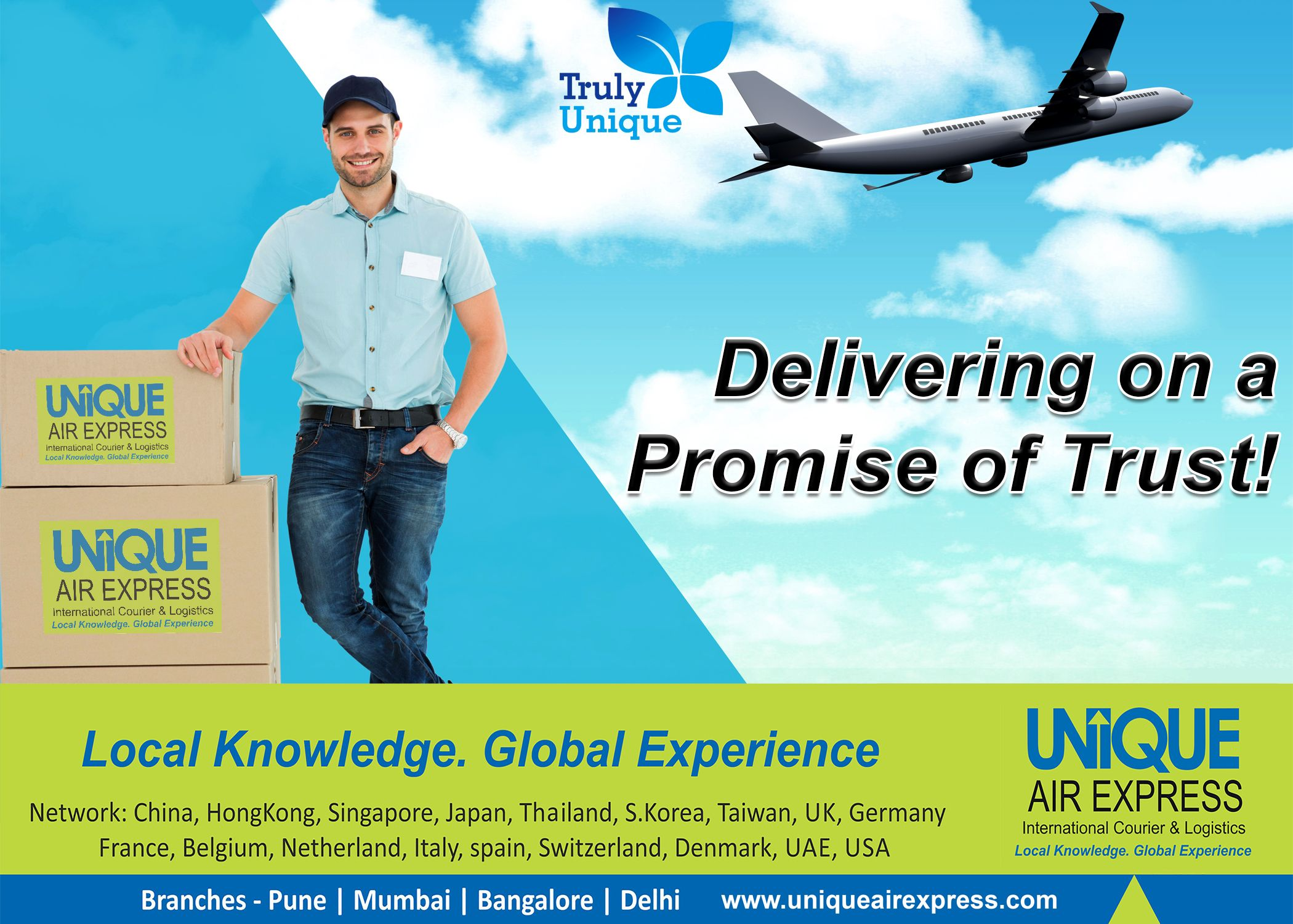 One Of The Fastest Growing International Courier and