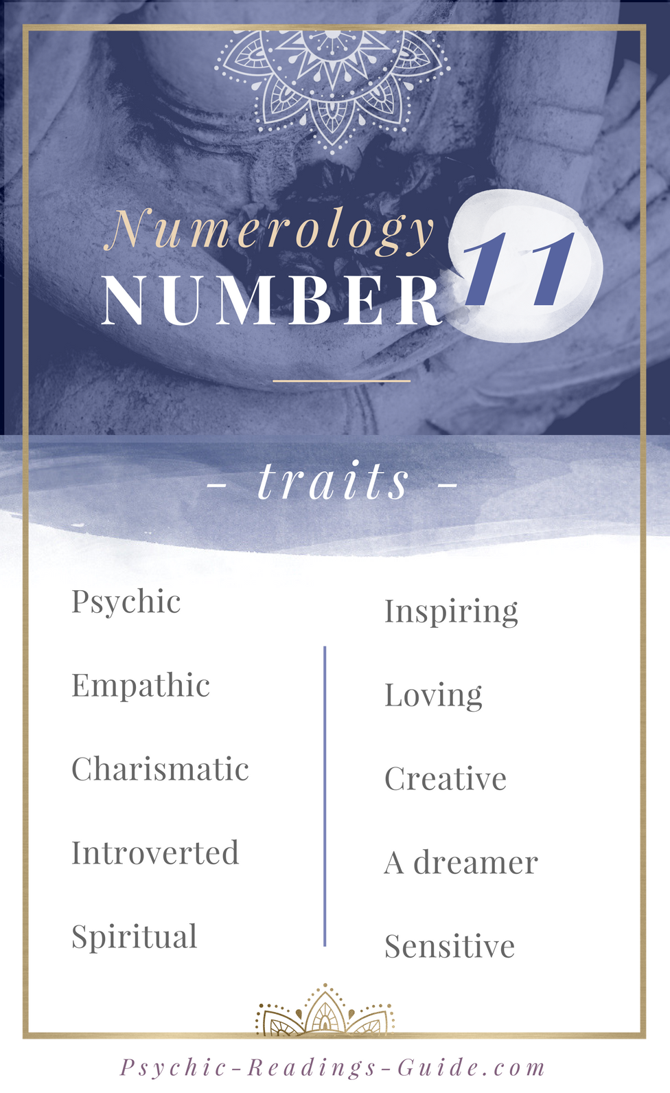Master Numerology Number 11 - Traits and Life Purpose