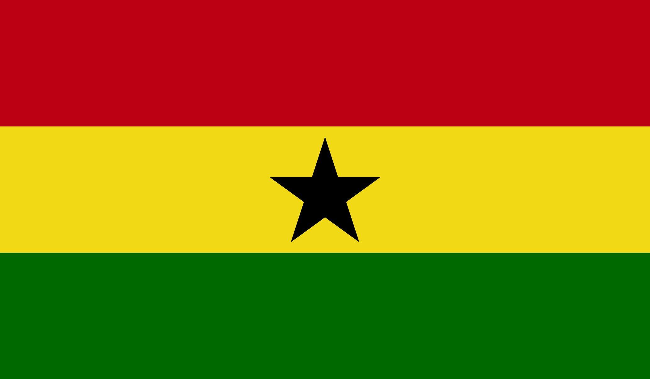 Ghana Flag Download Vector Banderas