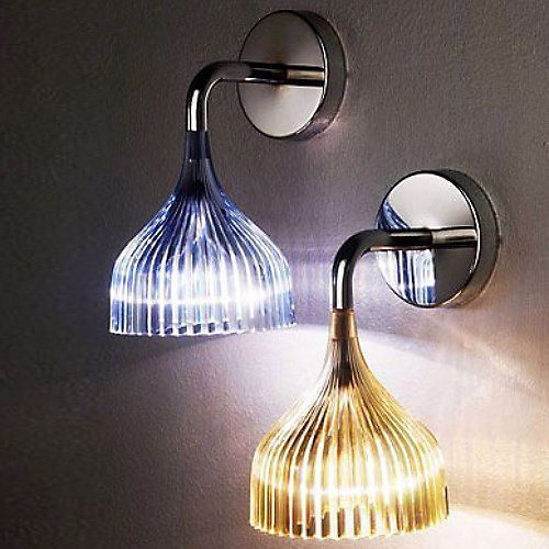 E Wall Sconce By Kartell At Lumens Com In 2020 Wall Lights Wall Lamp Wall Sconce Lighting