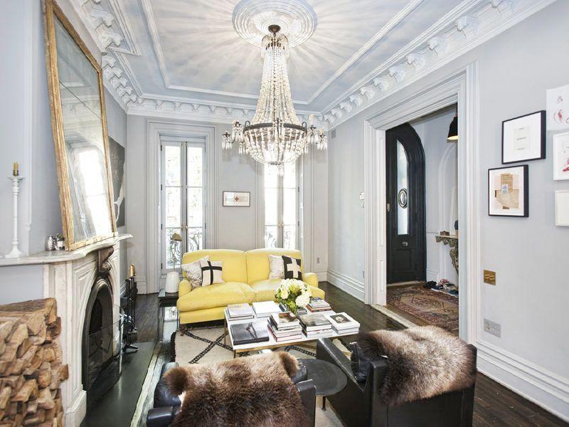 JCrewu0027s Jenna Lyons Sells Knockout Park Slope House for $4M Déco - deco maison ancienne avec poutre