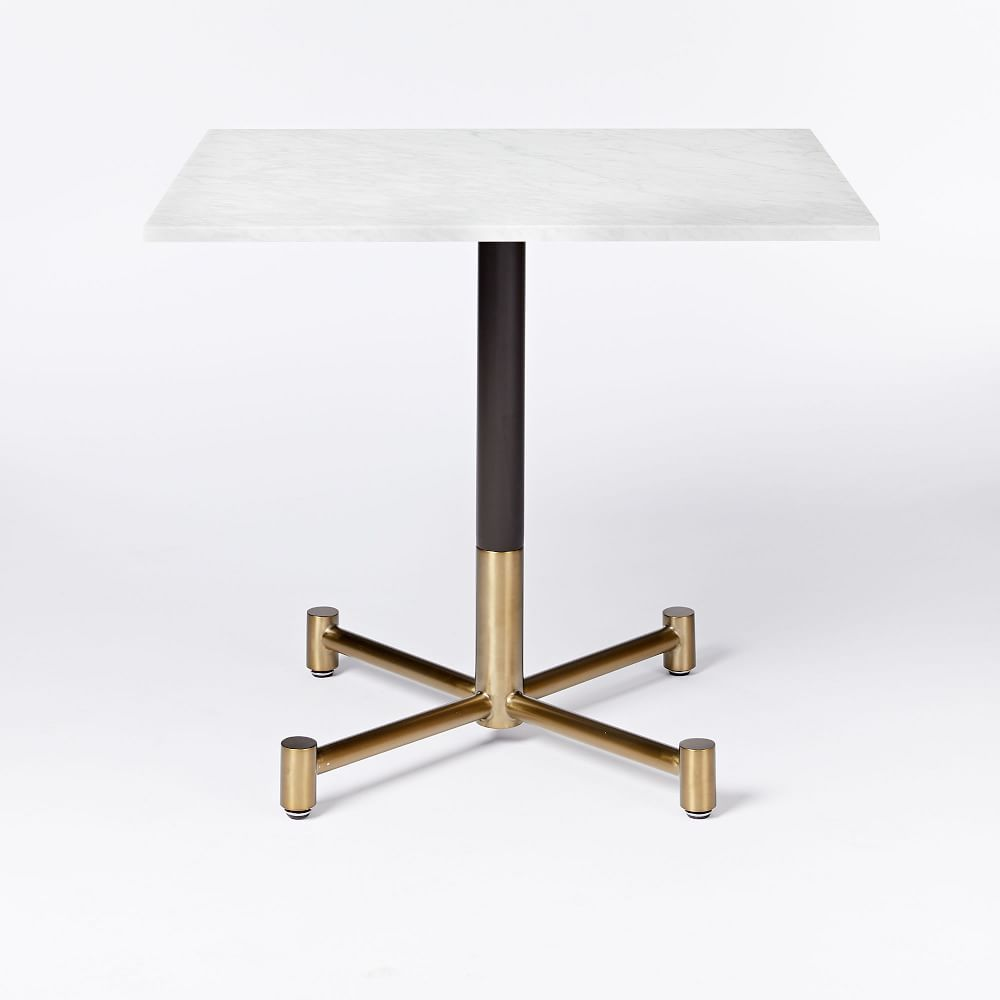 0be6d6d6a White Marble Rectangular Bistro Table | FURNITURES + DETAILS ...