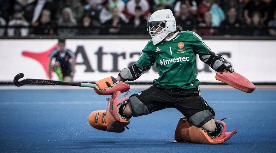 Maddie Hinch Great Britain And England Goalkeeper Ritual Hockey Photo Perspective Pictures Field Hockey Field Hockey Goalie England Hockey