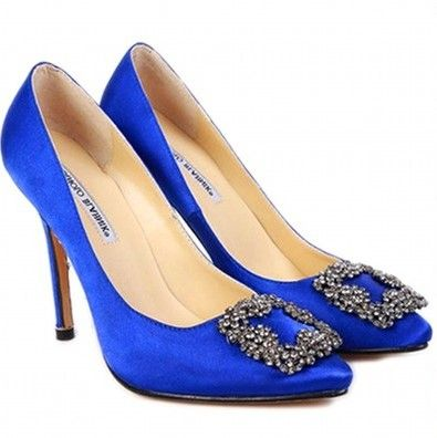 the perfect something blue & Carrie Bradshaw's shoes in Sex and the City Movie