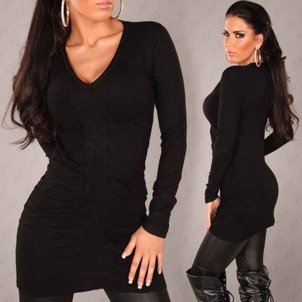 Vestidos ceñidos con escote en V 2012  http://vestidoparafiesta.com/vestidos-cenidos-con-escote-en-v-2012/