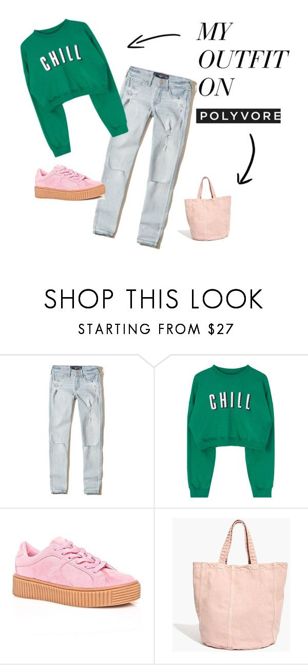 """""""Chill✨"""" by vee-nus ❤ liked on Polyvore featuring Hollister Co., Cape Robbin and Madewell"""