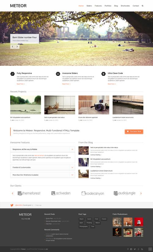 Template For Html5. templated free css html5 and responsive site ...