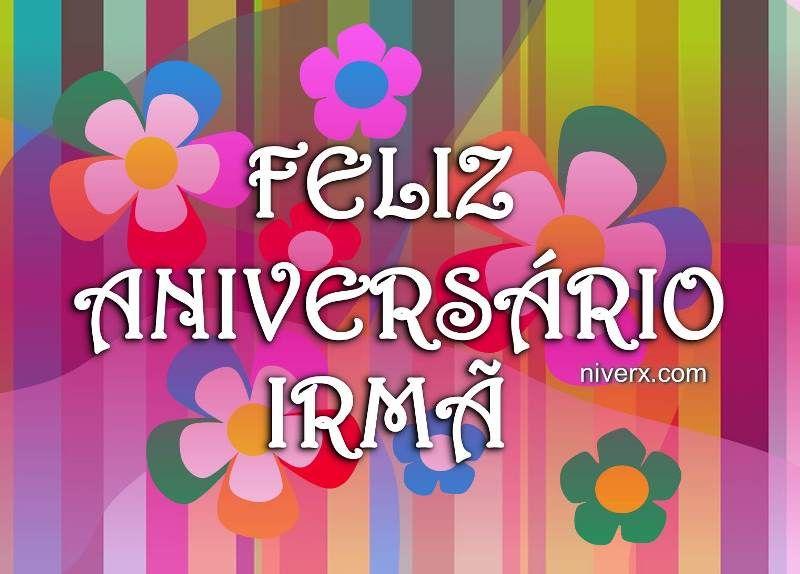 Mensagem De Aniversario De Irma: Feliz-aniversário-para-irmã-querida-celular-whatsapp