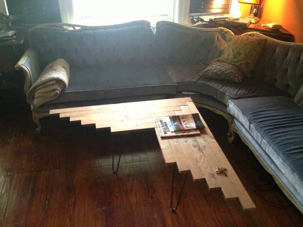 very cool reclaimed wood table