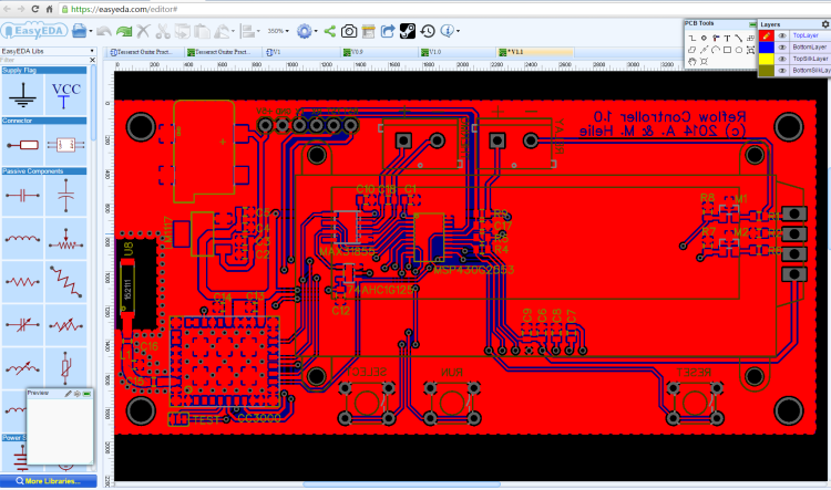 Circuit Simulator And Pcb Design Software Easyeda Pcb Design Software Circuit Simulator Software Design