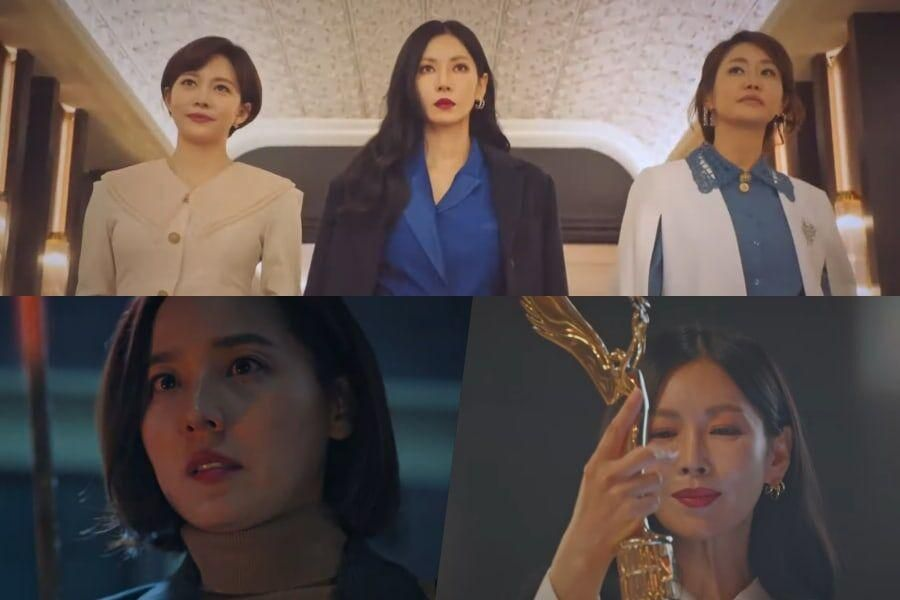 """Watch: Eugene, Kim So Yeon, And More Obsess Over Power And Success In Teaser For New Drama """"Penthouse"""""""