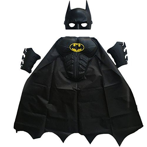 [halloween batman costumes kids] BBVESTIDO Batman Halloween Costume (3-8T for height 90-120cm) ** More info could be found at the image url.  sc 1 st  Pinterest & halloween batman costumes kids] BBVESTIDO Batman Halloween Costume ...