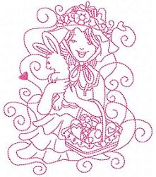 Enchanted Sweet Easter Set, 10 Designs - 3 Sizes! | What's New | Machine Embroidery Designs | SWAKembroidery.com Sealed With A Stitch