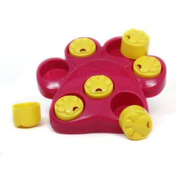 Dog Treat Puzzle.  Too cool!