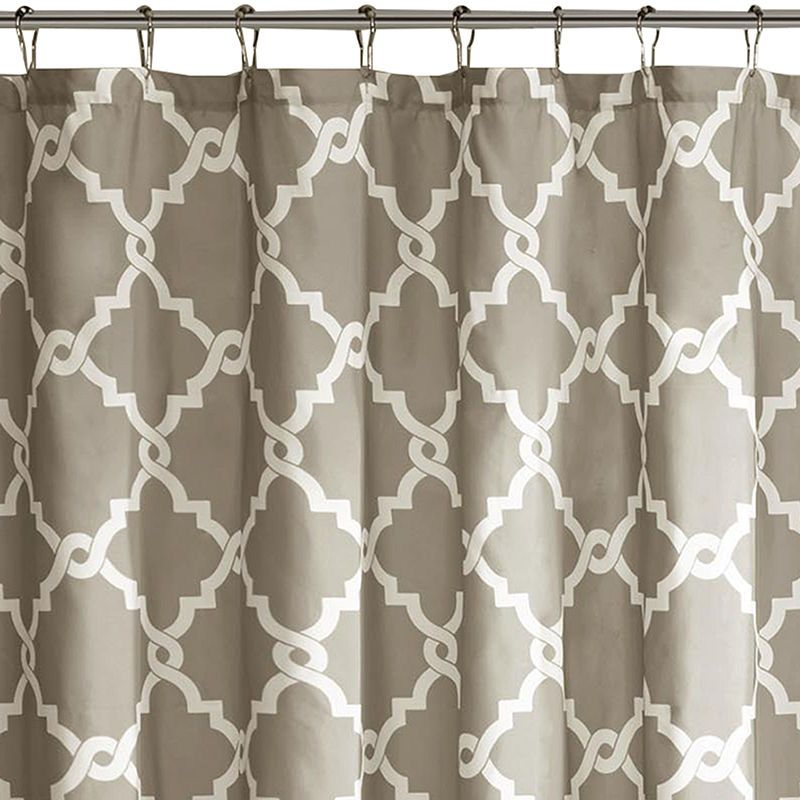 Madison Park Essentials Diablo Printed Shower Curtain