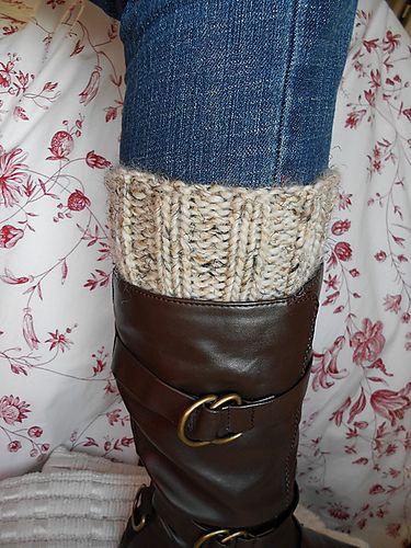 Basic Boot Cuff Pattern By Mindy Lewis Knitting Patterns