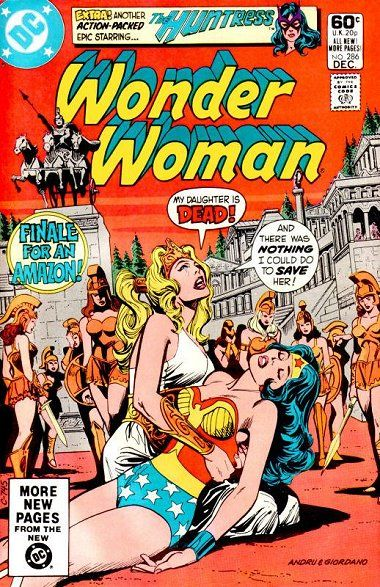 Cover of Wonder Woman Issue 286