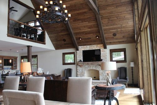 High Ceilings Dark Wood Ceiling Beams Large Ornate