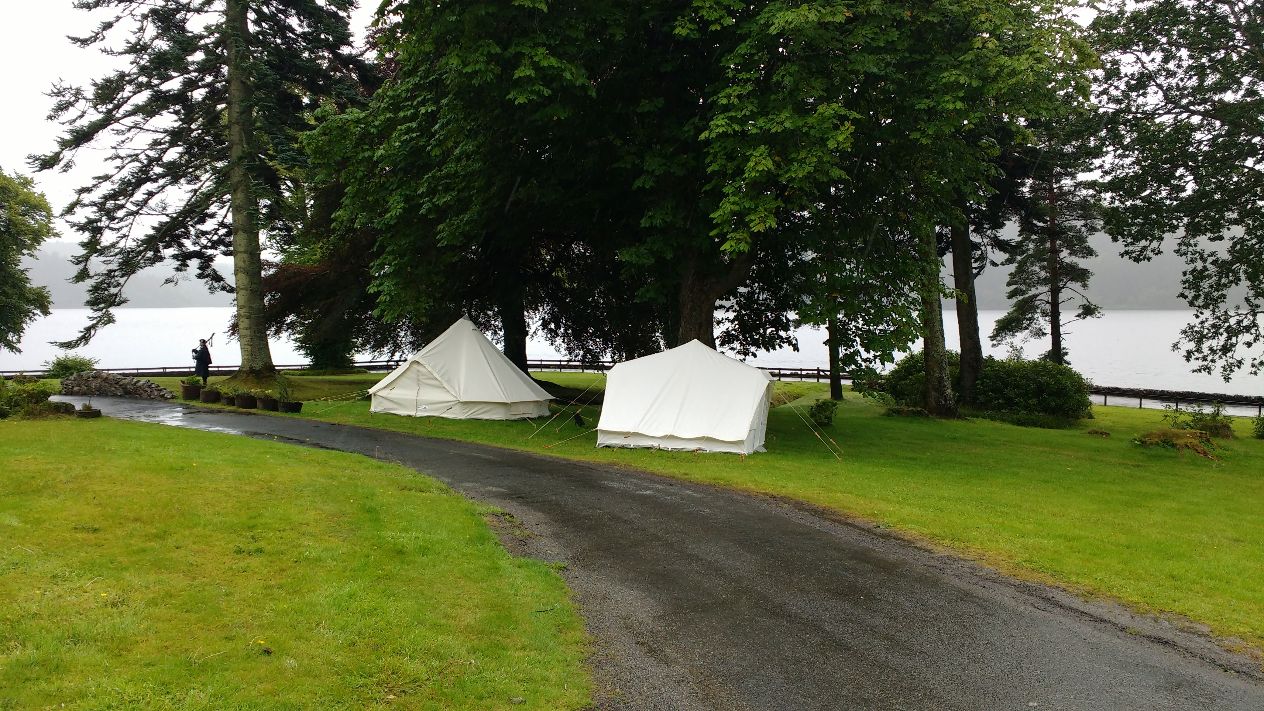 Adventure Play Tent & Baby Tent at Altskeith House, Loch Ard