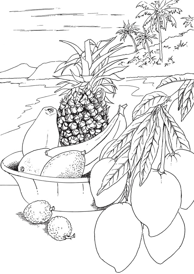 Welcome To Dover Publications Mandala Coloring Pages Fruit Coloring Pages Creative Haven Coloring Books