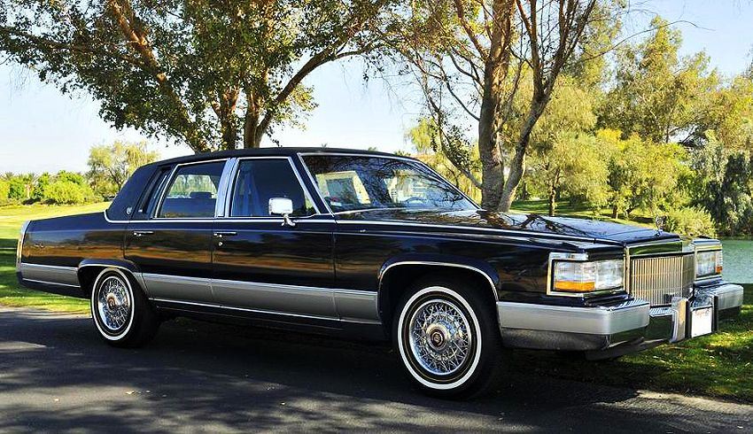 1991 Cadillac Fleetwood Brougham | Clic and Vintage Cars ...