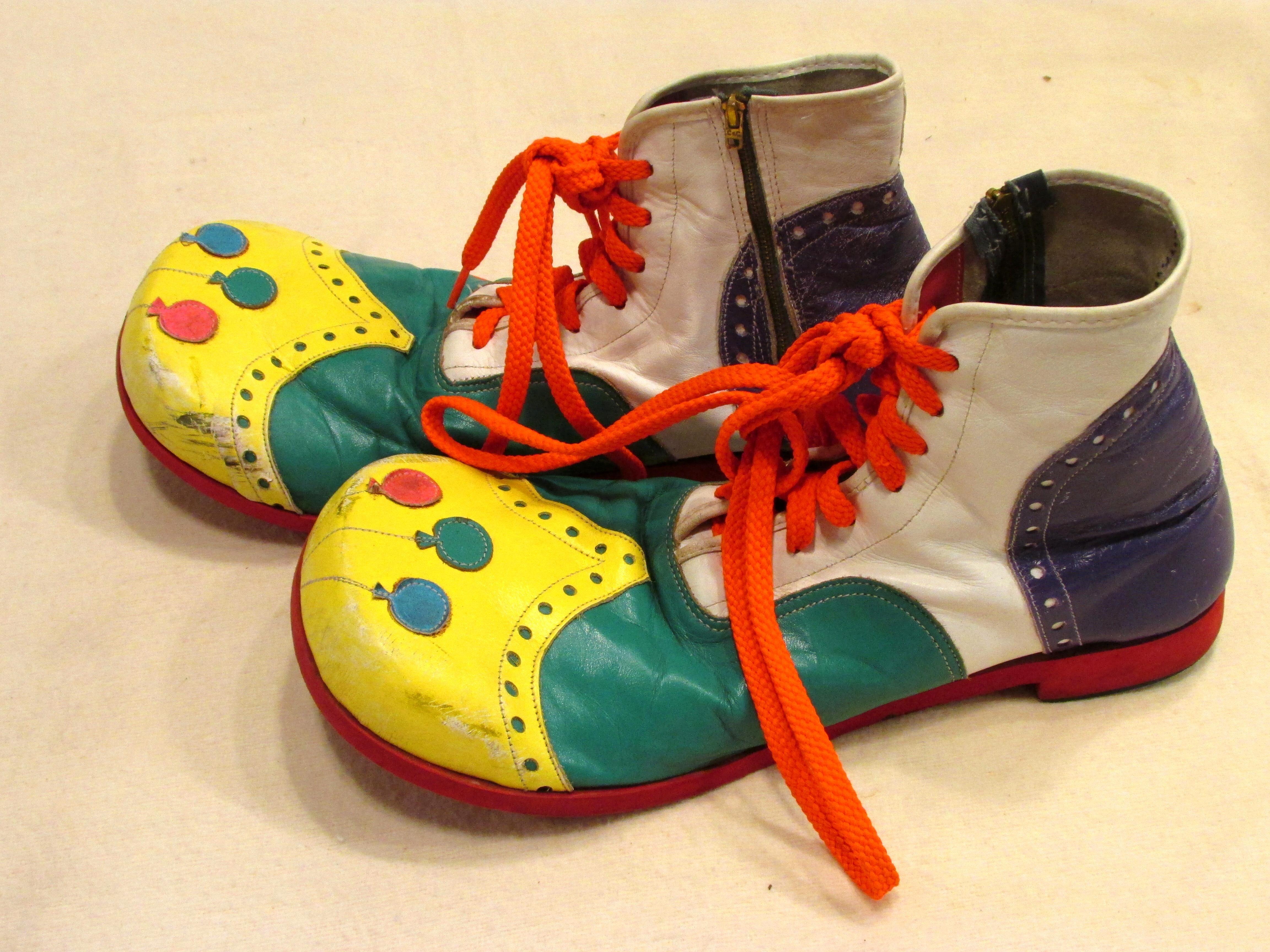 new arrival 6796c cdd93 Balloons Clown Shoes | Clown Shoes | Clown shoes, Retro ...
