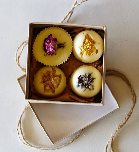 Yup, Goat's Milk Is Having a Moment - Bouquet Bath Truffles Made with Goat's Milk, $18 for four; anthropologie.com - Skip the shower and take a long, soothing, spa-like bath with these truffles from Anthropologie. These bath bombs are just as good for your skin as they are gorgeous. #InStyle