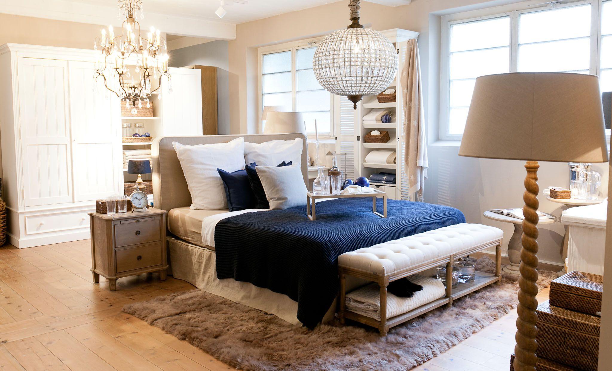 Traumhaft schöne Schlafzimmer - wir beraten Sie gern bei uns ...