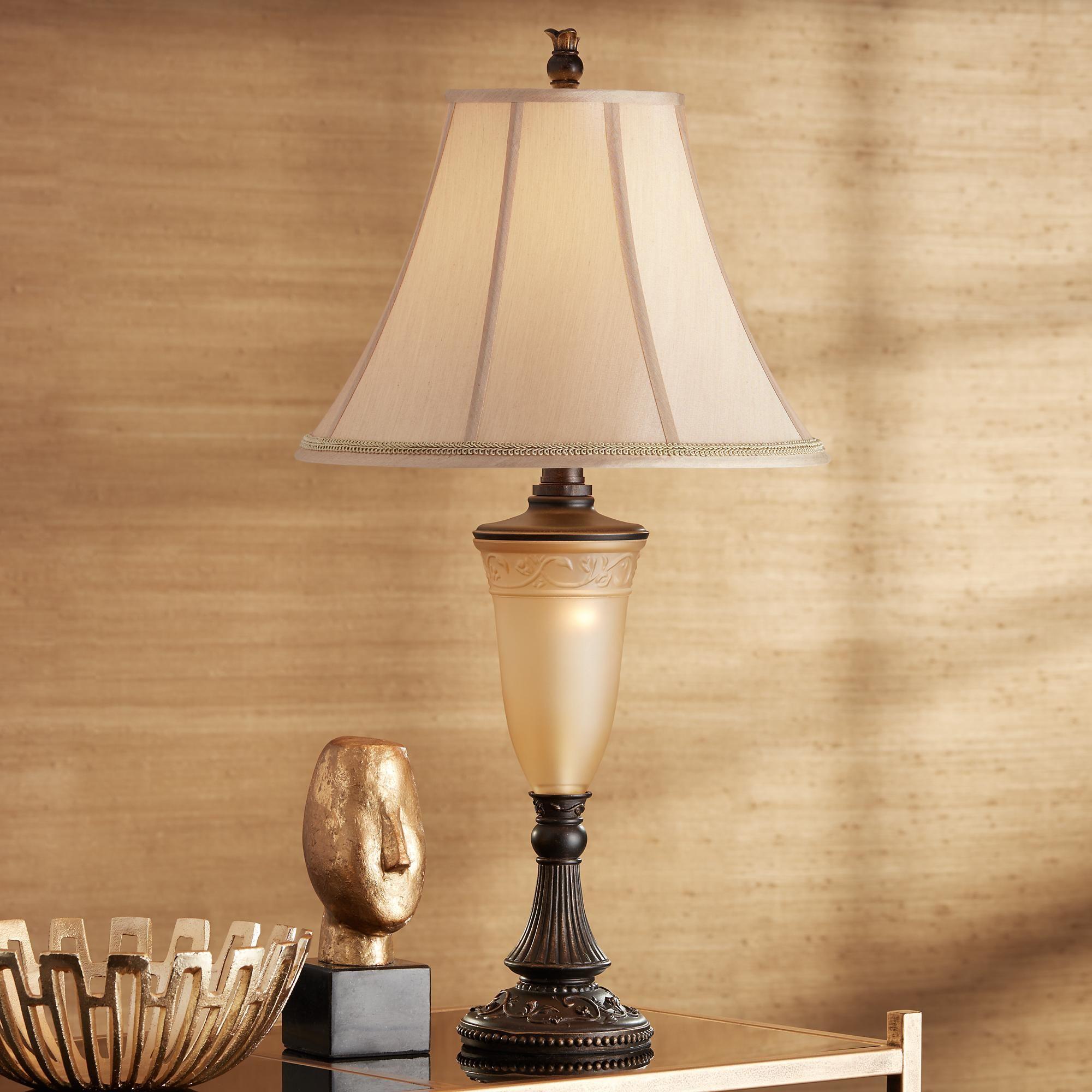 Table Lamps Kathy Ireland Sorrento Night Light Table Lamp In 2020 Night Light Lamp Table Lamp Lamp