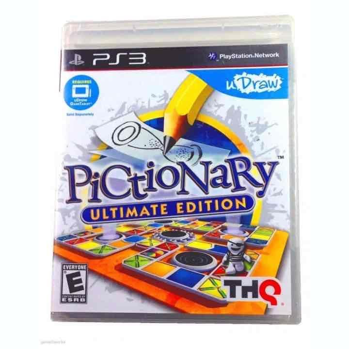 Pictionary Ultimate Edition PS3 - New  Pictionary Ultimate Edition PS3 - NewPictionary Ultimate Edition PS3 - New #Mercari https://item.mercari.com/gl/m94770819703/