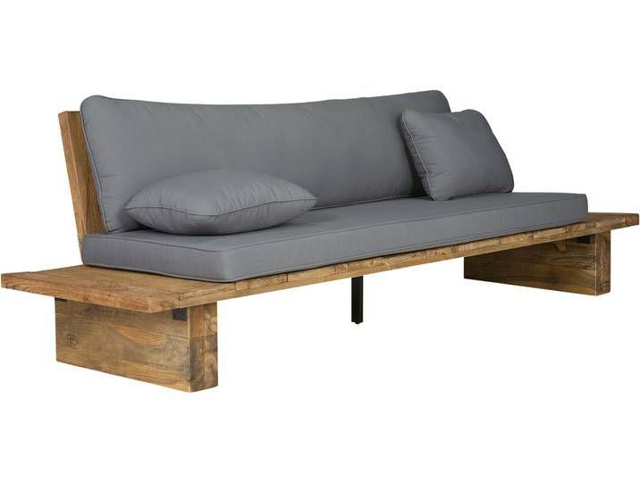 Massivum Sitzbank Elima Rustic Sofa Wood Sofa Lounge Sofa