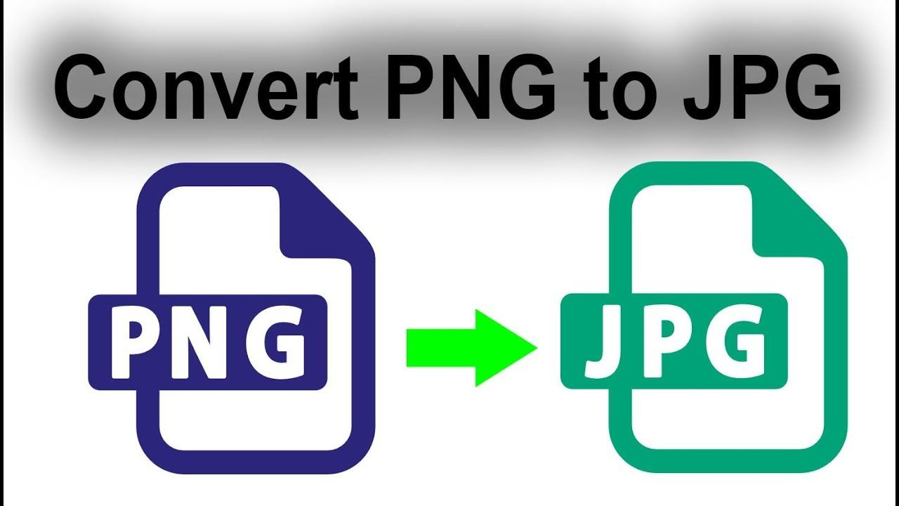 How to convert bulk image png to jpg with automate batch
