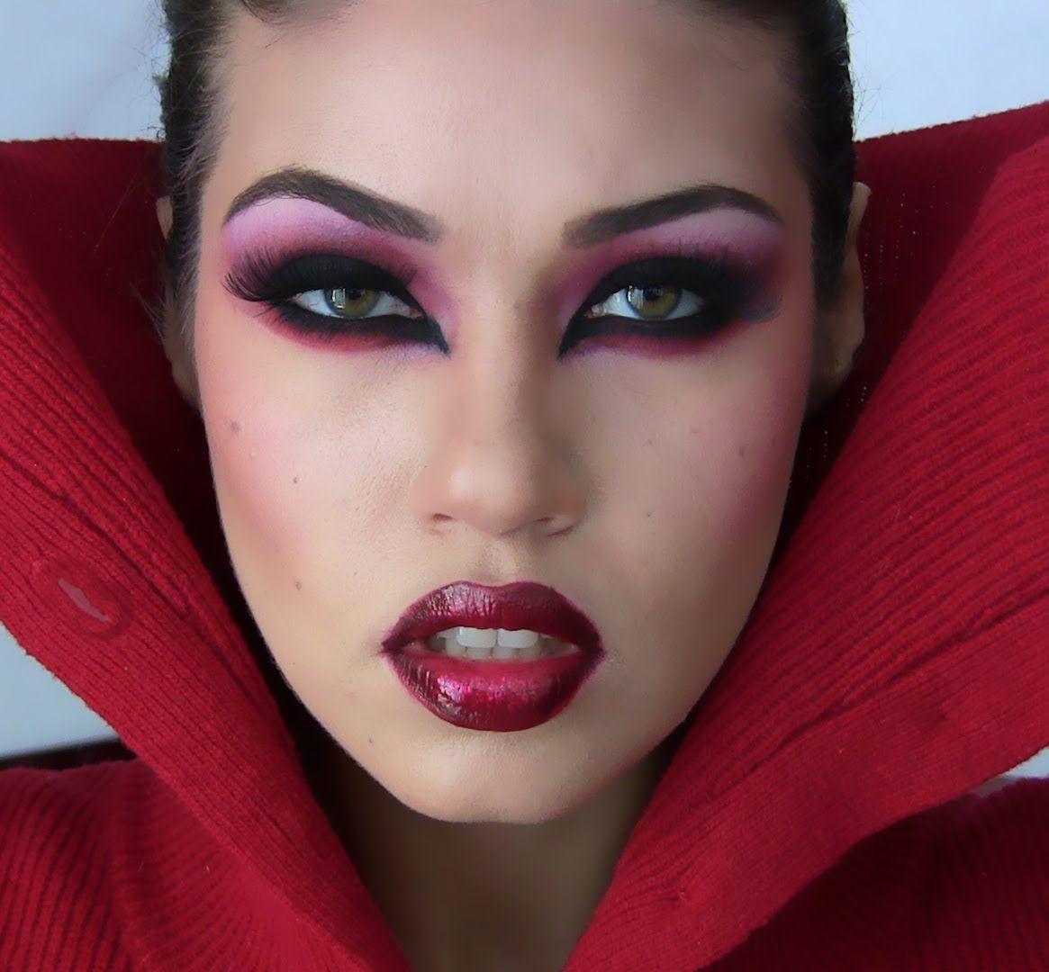 Resultado de imagen para disfraz dracula mujer maquillaje