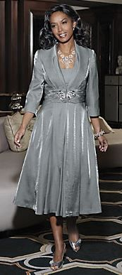 plus sz 22W Silver Springs Jacket Dress mother of the bride groom ...