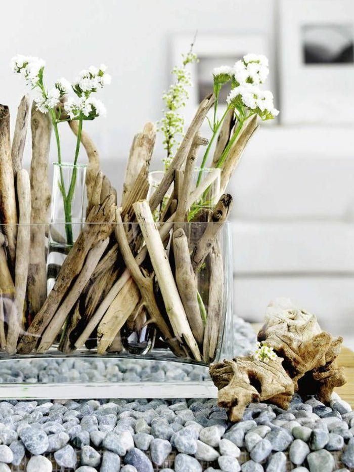 50 idées pour la déco bois flotté | Pinterest | Art floral ...