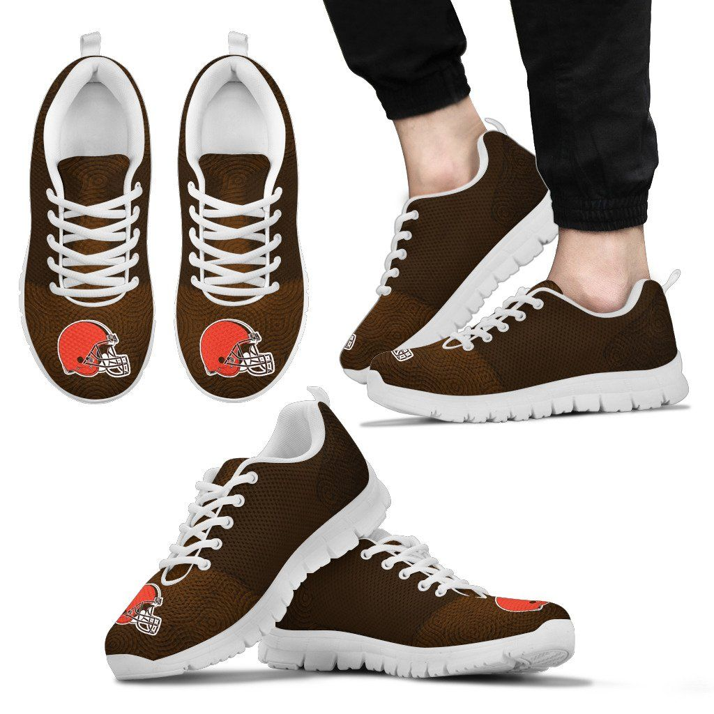 Seamless Line Magical Wave Beautiful Cleveland Browns