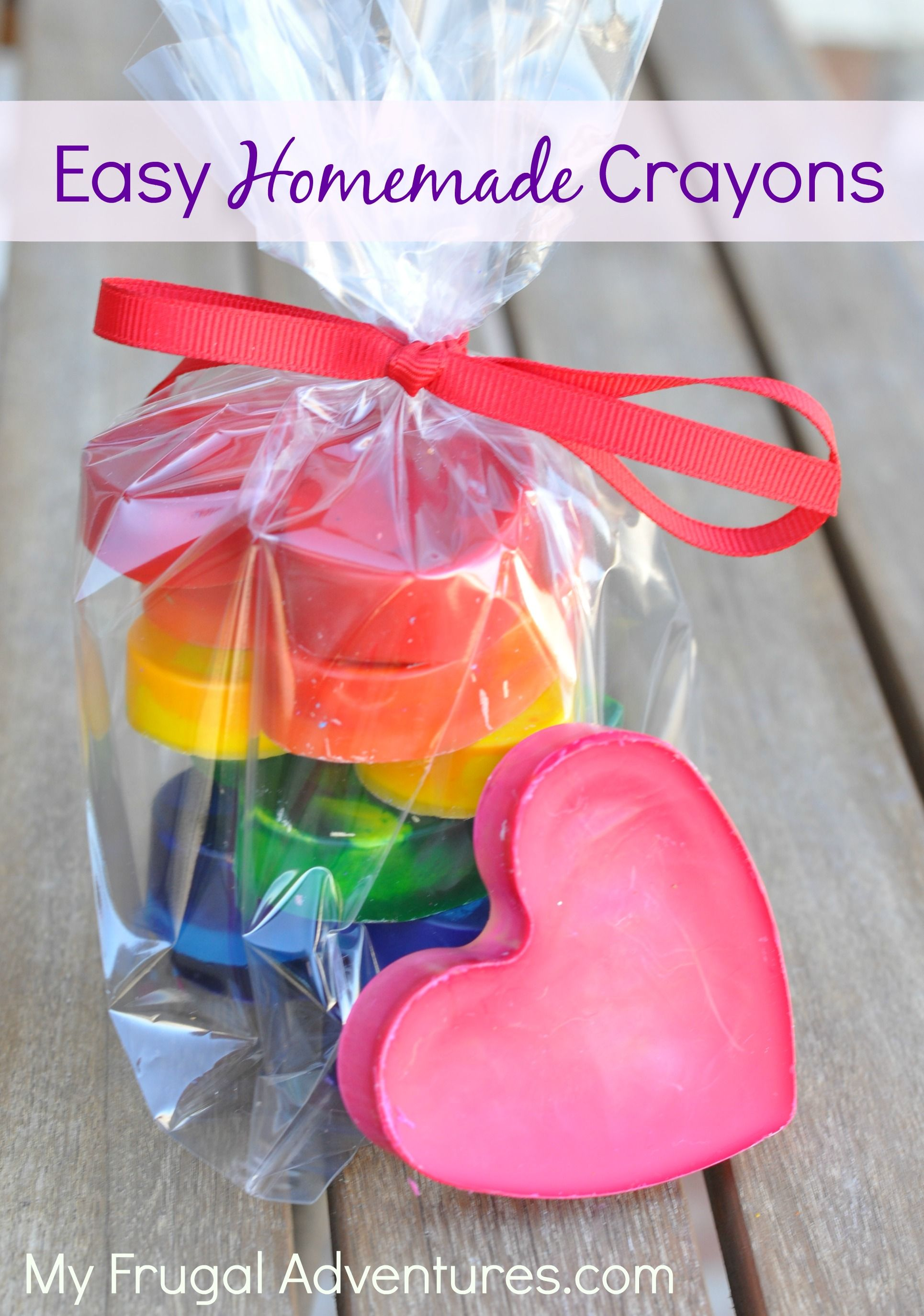 Fast and Easy Homemade Crayons {Perfect Gift Idea | GIFTS/UPCYCLE ...